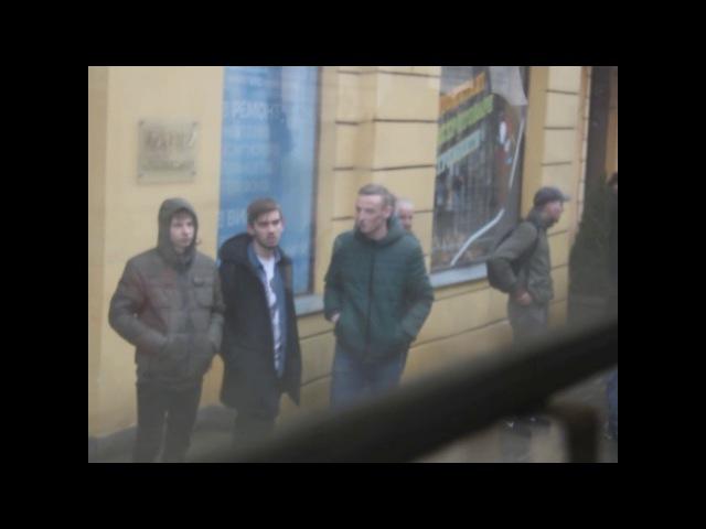 Напад ультраправих, марш Сестринство, підтримка, солідарність, 8 березня, Львів.