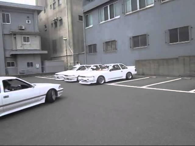 20ソアラ 爆音マフラー 1G GT 5台 レーシングサウンド シャコタン  12501