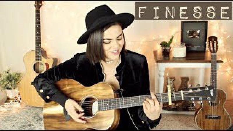 Finesse (Remix) - Bruno Mars ft. Cardi B Cover Mackenzie Johnson