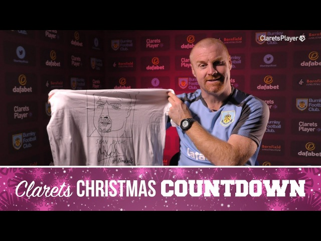 BADLY DRAWN CLARETS | Sean Dyche Unwraps A Surprise Gift
