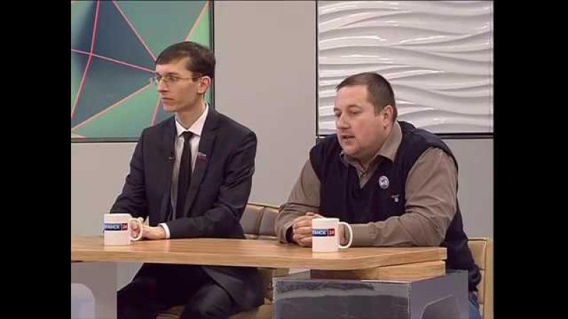 ГТРК ЛНР. Утро на Луганск 24. Н. Жарский, М. Дьяконов. 20 февраля 2018
