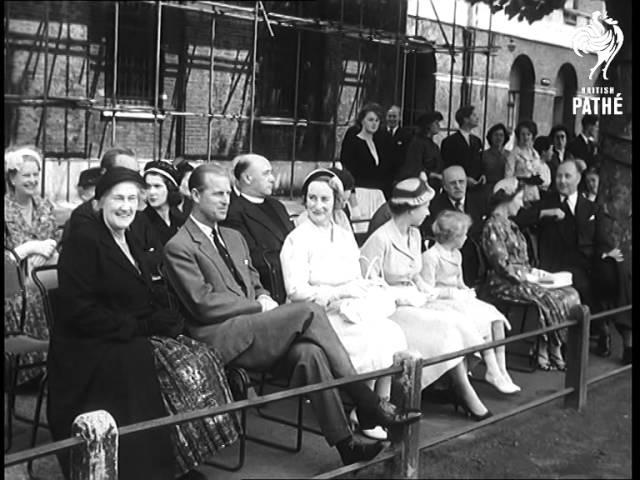 London - Prince Charles At School (1957)