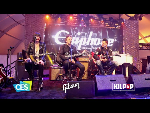 Kilpop Minute: Vivian Campbell at Gibson CES 2018