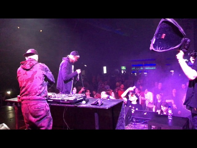 MC Spyda DJ Slipz Jungle Planet Moscow 17.03.2018