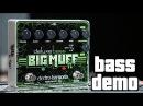 Electro Harmonix Deluxe Bass Big Muff Bass Demo