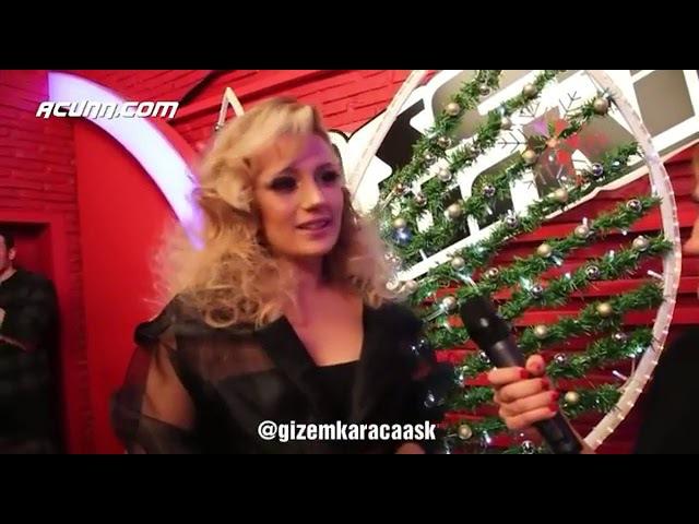 Gizem Karaca oses Türkiye 2018 yılbaşına özel