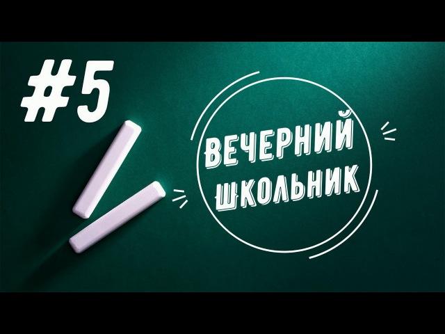 Вечерний Школьник 5 Блинкова Злата и Алина Шерстюк