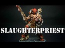 How to paint Khorne Bloodbound Slaughterpriest from Age of Sigmar