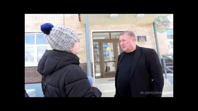 Интервью у главного врача Волховской межрайонной больницы Макаревича П. А. о ФАПе в Бережках