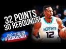Dwight Howard Full Highlights 2018.3.21 Charlotte Hornets at Nets - 32-30, MONSTER! | FreeDawkins