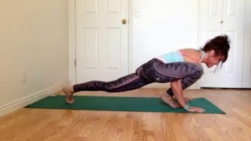 How To Do Flying Lizard Arm Balance Pose