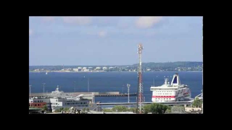 ВЛОГ: Таллиннский порт, лето / Port of Tallinn, Timelapse