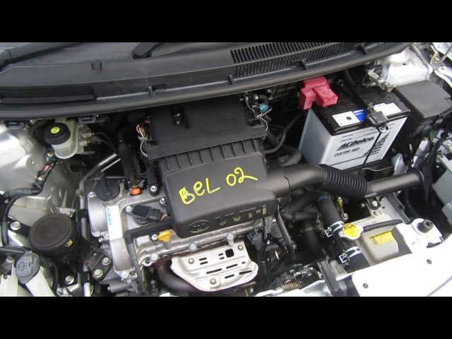 Запуск ДВС 2SZ-FE Toyota Belta SCP92 [Bel01]