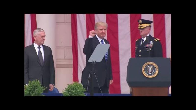 US-Präsident droht: So reagiert Donald Trump auf Angela Merkels Bierzeltrede
