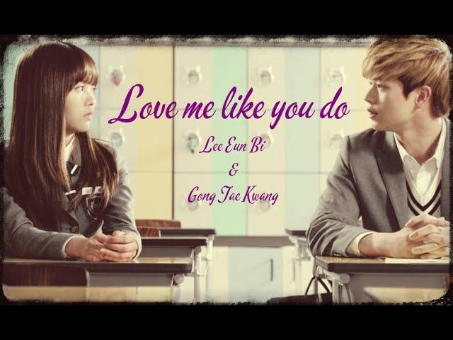 Lee Eun Bi and Gong Tae Kwang (Love me Like You do) MV