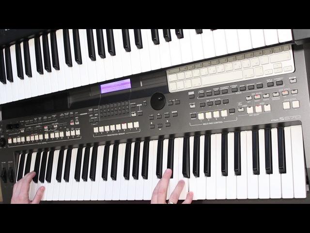 БУКЕТ АЛЕКСАНДР БАРЫКИН Yamaha PSR s670