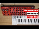 Behringer Neutron Synthesizer (Prototype) - First Try