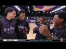 DeRozan Lowry Butler Interview All Star Practice February 17 2018 2018 NBA All Star Game