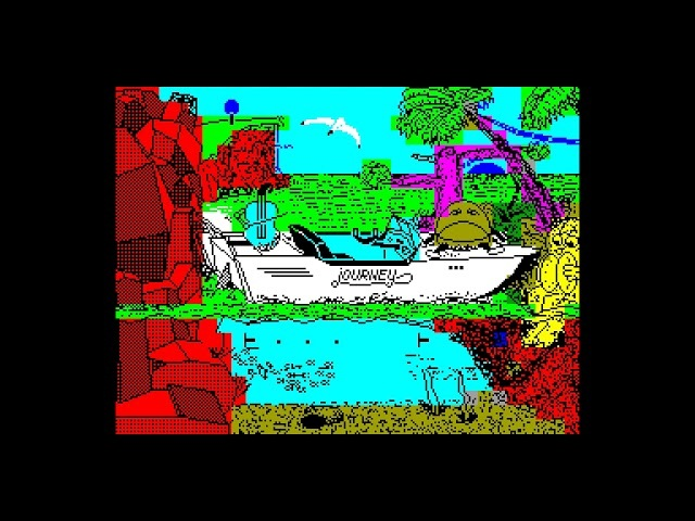 Journey - MegabyteLittle Soft [zx spectrum AY Music Demo]