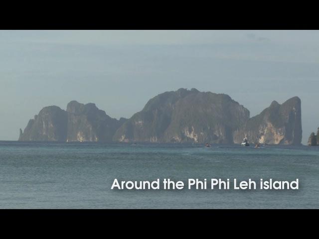 Around the Phi Phi Leh island