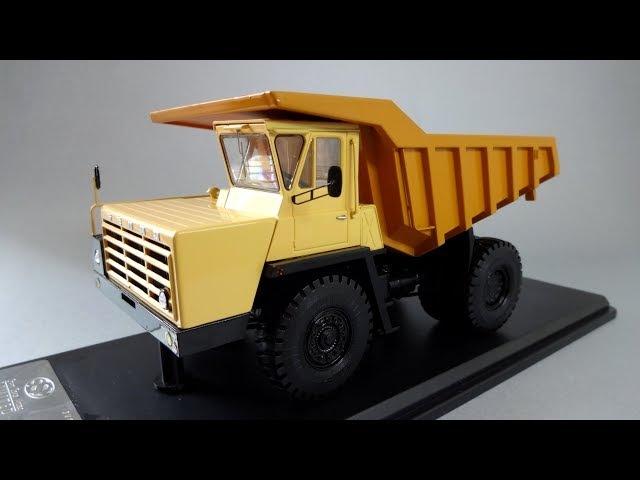 БелАЗ-540А Карьерный самосвал - коллекционная масштабная модель Start Scale Models (SSM)