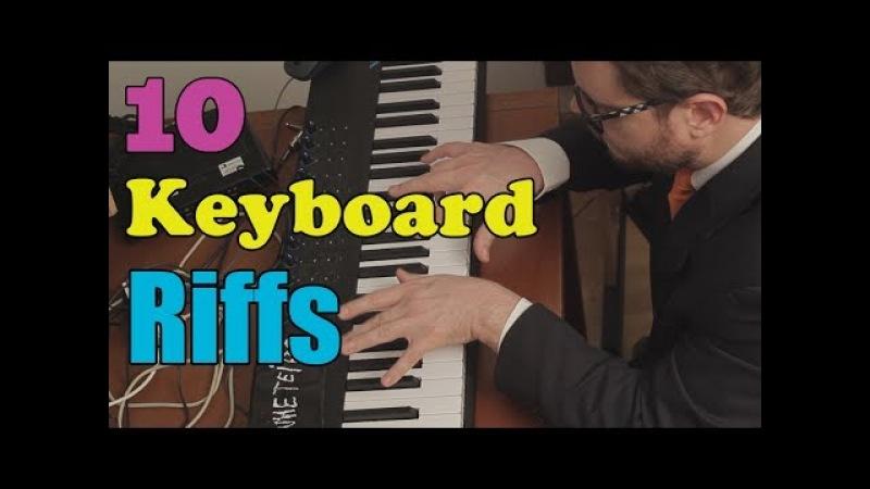 Top 10 Keyboard Riffs in Rock