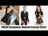 SHEIN Sleepwear Women Casual Short Sleeve Snowman Print Tee Shirt and Shorts Pajama Set