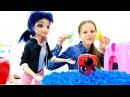 Салон красоты Новая прическа для Маринетт Игры для девочек