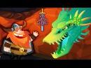 Die With Glory ПРИКЛЮЧЕНИЯ СТАРОГО ВИКИНГА Мульт игра Видео для детей БИТВА С ДРАКОНОМ