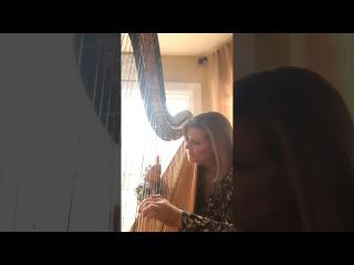 My Immortal (Evanescence) on harp by Kirsten Agresta Copely
