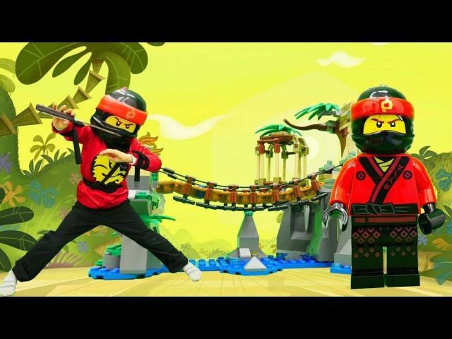 Ninja Go Kay'a dönüştük. Çizgi film oyuncakları