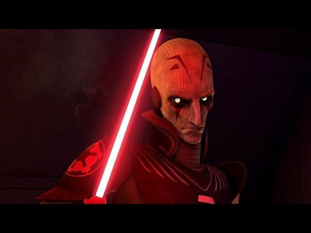 Star Wars Rebels Grand Inquisitor Fight Scenes HD