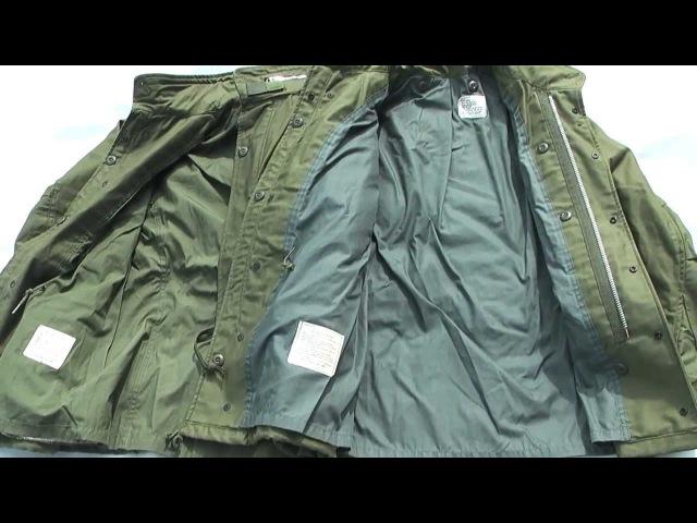 Vintage 1968 pattern M-65 Field Jacket