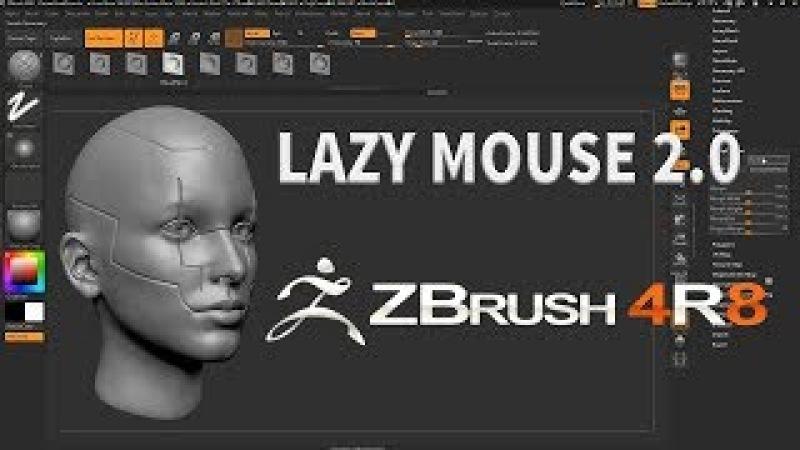 ZBRUSH 4R8 - LAZY MOUSE 2.0