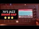 Turning 70's Jazz into Smooth Boom Bap Beats George Benson Chopping Block MPC Live