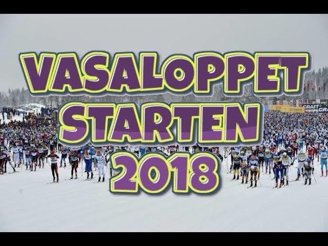 Vasaloppet Starten 2018