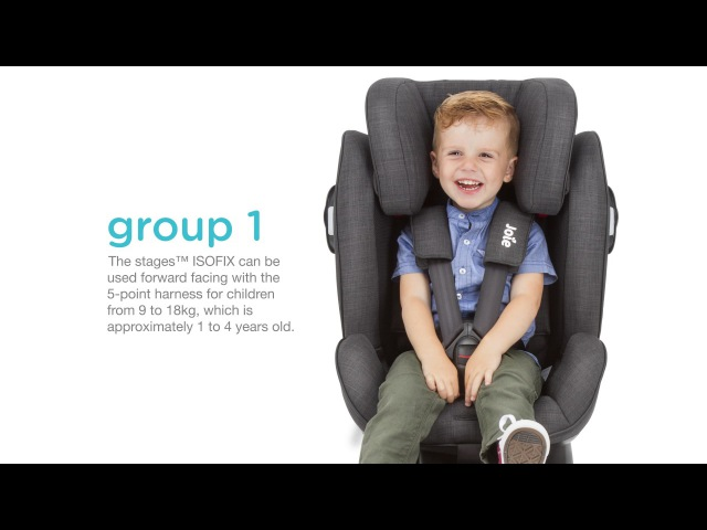 Joie Stages™ ISOFIX Installation Video