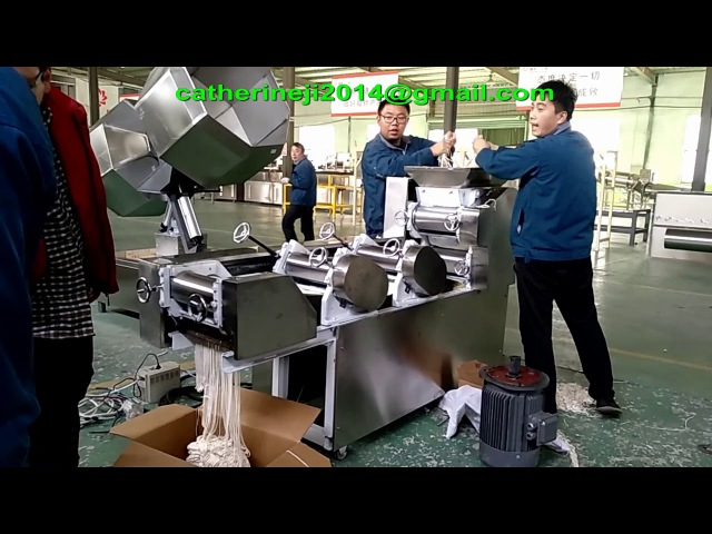 F79reliable performance frying mimi stick production line