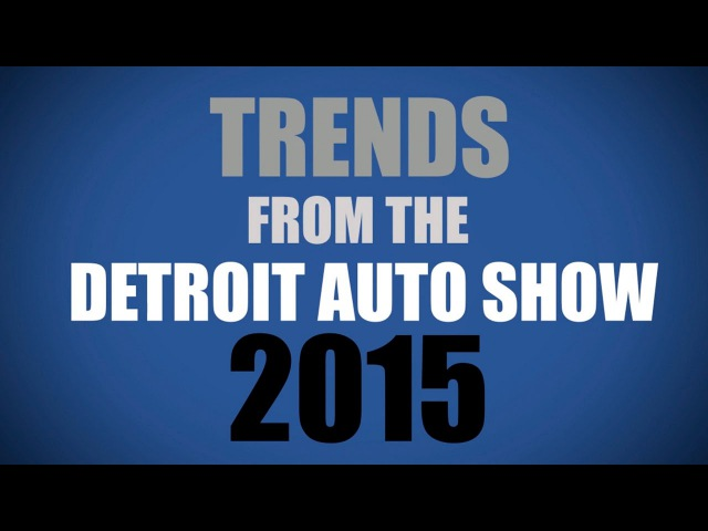 Лучшие видео youtube на сайте main-host.ru Detroit Top Trends The Future of the Automotive Industry