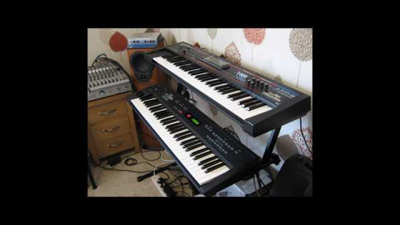 Yamaha SY35 Patch Demo 13 Factory patches