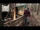 Bushcraft Camp: Full Super Shelter Build from Start to Finish.