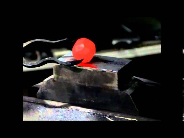 Ковка шара из массива. Кузница Панова. Blacksmithing. Forging.