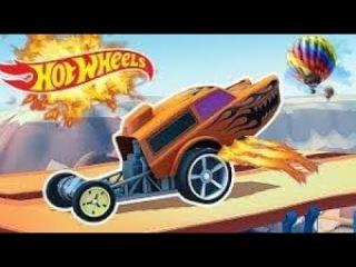 Машинки на сумасшедшей трассе хот вилс -Hot Wheels: Race Off машинка как мульт игра