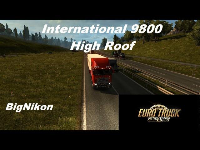 Мод International 9800 для Euro Truck Simulator 2