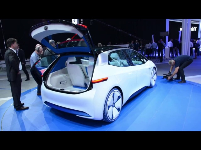 Volkswagen concept car at the Mondial Automobile 2016 in Paris L'argus