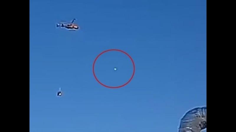 평창올림픽 알파인 스키장에 나타난 UFO UFO Sighted Over Jeongseon Alpine Centre! Pyeongchang