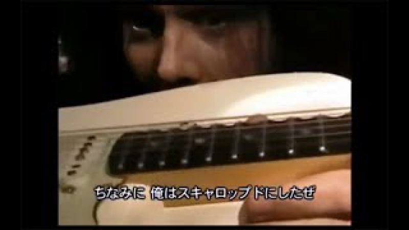 Yngwie Malmsteen shows his main strats