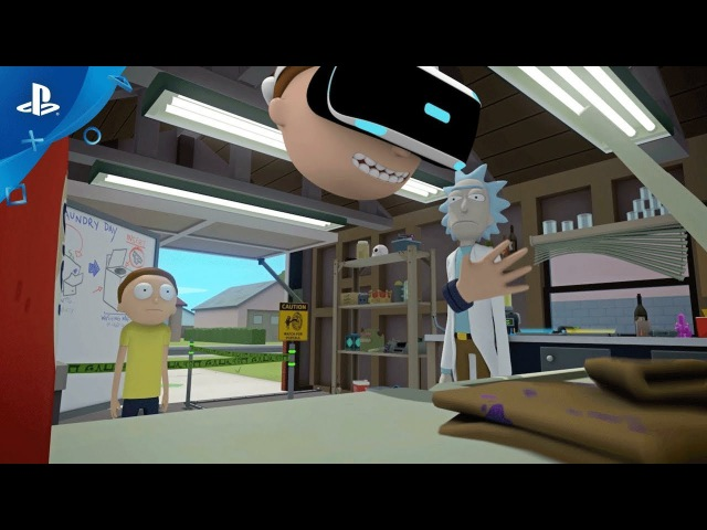 Rick and Morty: Virtual Rick-ality – PSX 2017: Announce Trailer   PS VR