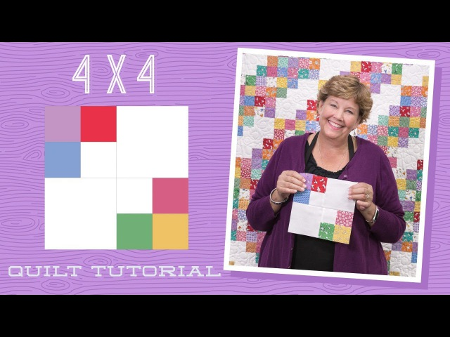 Make a 4 x 4 Quilt with Jenny!