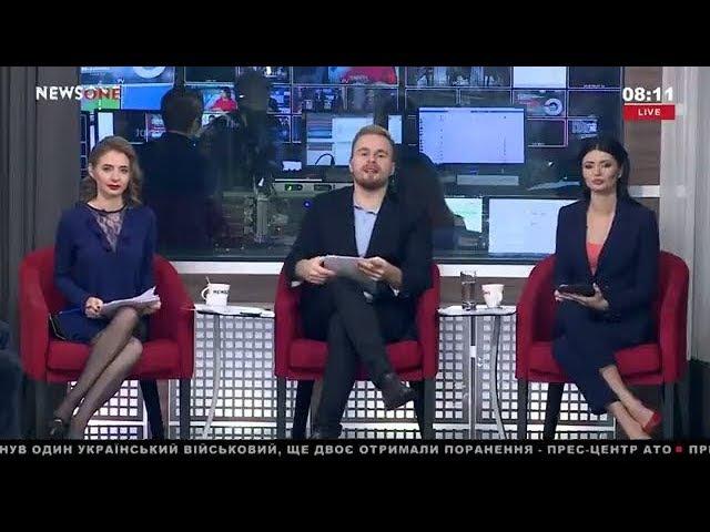 Удастся ли Данилюку инициировать отставку Луценко УТРО на NewsOne 22 12 17